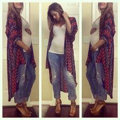 Casual maternity fashion