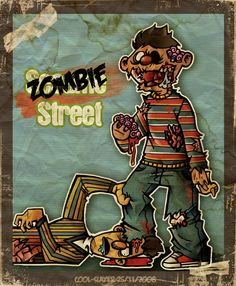 Can you tell us how to get, how to get to #zombie street?