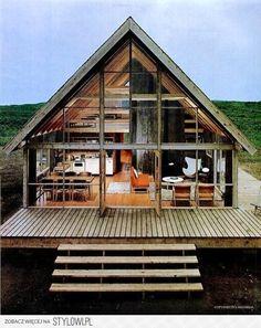 Rustic Wood & Glass cabin