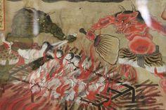 雲祥寺の十王曼荼羅(地獄絵)※太宰治が幼少期、子守女にこれを見せられて怯えたと作品内に記述がある。