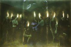 PAUL BENNEY http://www.widewalls.ch/artist/paul-benney/ #monochrome #painting…