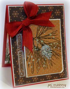 ornamental pine christmas pp219 2 stampin up SU