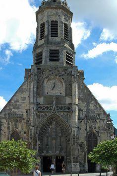 eglise St-Léonard. Honfleur. Normandie