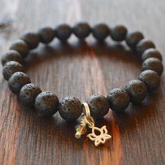 Lava Women's Lotus bracelet - Women's Beaded Bracelet