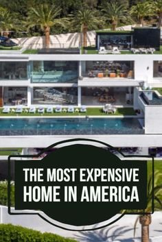 Tour inside the most expensive home in America (a $250 million mansion in Bel Air).