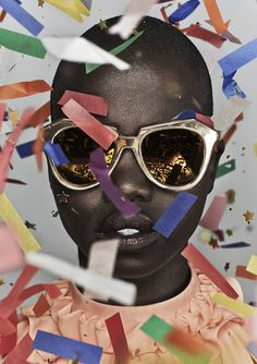 In celebration of her 10 years in the eyewear industry, Karen Walker has launched a collection of 10 new, limited edition sunnies - recreating one style from each year in gold frames and gold mirrored lenses. Good as gold. Enough said.