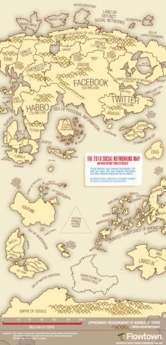 A little dated, but still cool - The 2011 Social Networking Map