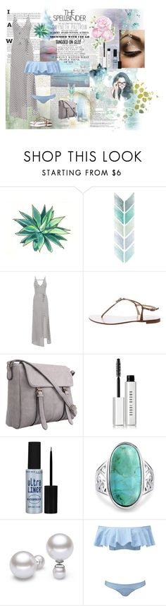 """Endless summer"" by huntress-383 ❤ liked on Polyvore featuring Balmain, Gwyneth Shoes, WALL, Giuseppe Zanotti, Bobbi Brown Cosmetics, Maybelline, Bling Jewelry and Lisa Marie Fernandez"