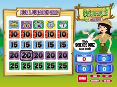 Really nice science quiz game my son and I both love it