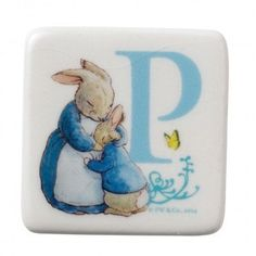 Letter 'P' Mrs. Rabbit and Peter Magnet – Modo Creations