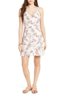 Main Image - Lush Cross Front Fit & Flare Dress