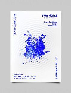 For Noise music festival poster design.: