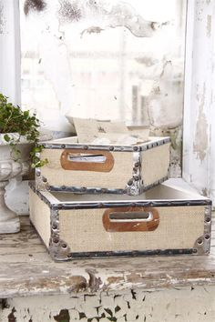 Jeanne d'Arc Living Trays from The Beautiful Life. These trays are my favorite. They're sturdy, stylish, and can hold quite a bit.