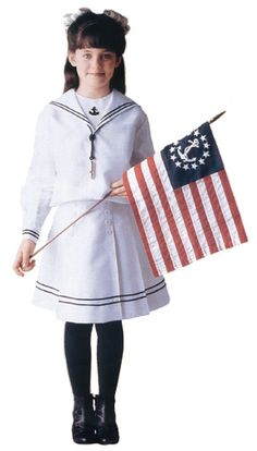 Samantha's Sailor Dress