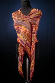 Knitting Pattern Name: Long Tail Triangle Shawl Free Pattern by: Kimberly Perkins