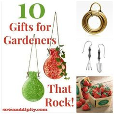Attirant 10 Gifts For The Gardener That Rock!