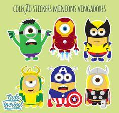 Stickers | Vingadores Minions