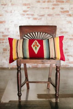 limited edition | red mexicali pillow