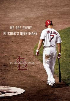 Holliday! one of my favorite players!