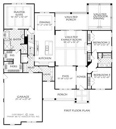 Farmhouse Style House Plan - 3 Beds 2 Baths 2187 Sq/Ft Plan #927-989