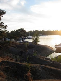 stockholm's archipelago, #sweden.  I took a dinner cruise through the Archipelago but forgot my camera. One day I want to go back and photograph it.