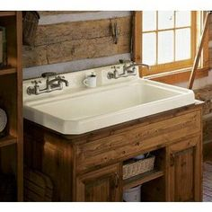 Shop For The Kohler White Harborview Self Rimming Or Wall Mount Utility Sink  With Three Hole Faucet Drilling On Center Deck Of Sink And Save.