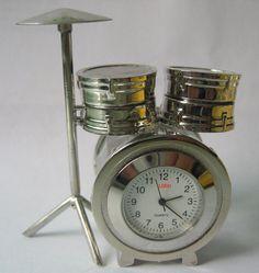 mini drum kit alarm clock