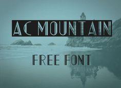 AC Mountain Font | dafont.com