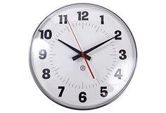 Peter Pepper Products Wall Clock on OneKingsLane.com