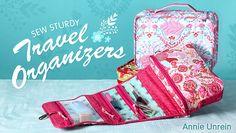 Sew McCool's Cross-body Hipster Bag – Free Sewing Tutorial + Sew a Clear Vinyl Pocket + Sew Sturdy Travel Organizers