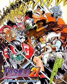 Eyeshield 21 - Read Eyeshield 21 Manga 136 Stream 1 Edition 1 Page All online for free at MangaPark Manga Art, Manga Anime, Anime Art, Eyeshield 21 Manga, Man Sketch, Horse Books, Manga Covers, One Punch Man, Manga To Read