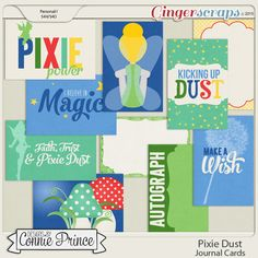 Pixie Dust - Journal Cards