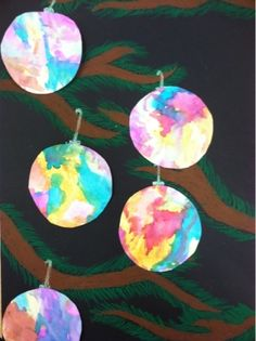we heart art: fun ornament lesson.