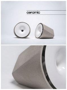 Choosing Beautiful Portable Speaker Design in 2019 Audio Design, Speaker Design, Sound Design, Charles Ray Eames, Promo Flyer, Radios, Concrete Design, Vintage Design, Minimal Design