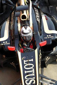 KIMI RAIKKONEN. 2013. Doing amazing considering he's in a Lotus.