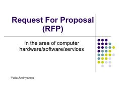 Request For Quote Rfq Request For Proposal Rfp Request