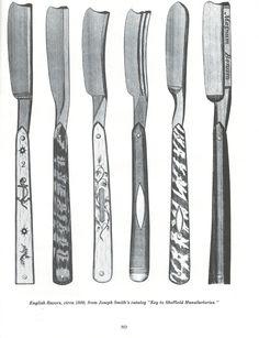 More razors. #Barbicide