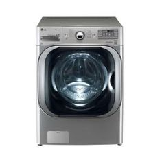 LG Electronics 5.1 cu. ft. Capacity High Efficiency Front Load SteamWasher with TurboWash Wash in Graphite Steel - Model # WM8000HVA at The Home Depot