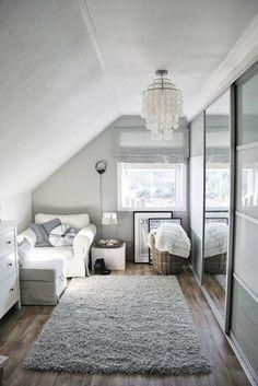 Home Bedroom, Modern Bedroom, Bedroom Decor, Decor Room, Teen Bedroom, Bedroom Ideas, Small Apartment Decorating, My New Room, White Walls