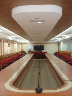 Design Of The Conference Hall UBI By Mathewandsaira Architects In Cochin