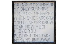 You Are My Sunshine on OneKingsLane.com