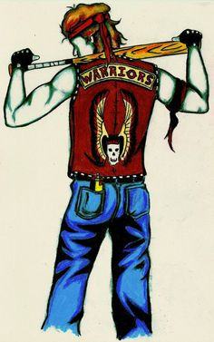 THE WARRIORS  Movie Character Art Print  by LittleEnithandSons