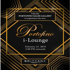 Be among the first to witness Portofino's most fabulous innovation yet!   Invite your clients and join us as we open the doors to Brittany's first interactive lounge, the first of its kind in the Metro South- the I-Lounge of Portofino! See you on Saturday, Feb 21, 2015, from 2:30 PM onwards, and experience technology and luxury in one. Contact us ASAP to schedule your trippings. See u on Saturday!!  PARKHOMES REALTY CORP. Globe : (+63917) 540-34-86 Suncell: (+63922) 812-9011 Smart: (+63998)…
