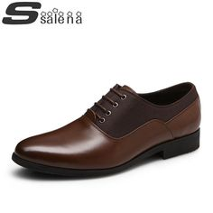 Genuine Leather Men Dress Shoes - Casual Shoes