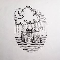 Little suitcase to match the lighthouse ⚓