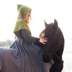 Matilde & Batman the Friesian (@matildebrandt) • Instagram-bilder og -videoer