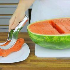 Оригинальный нож для нарезки арбузов #НОЖ #АРБУЗ