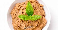 zdrowa pasta do kanapek z czerwonej fasoli z dodatkiem mięty Pasta, Healthy Cooking, Hummus, Food Inspiration, Food And Drink, Vegan, Ethnic Recipes, Cauldron, Fit