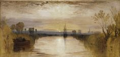 Le Canal de Chichester, William Turner (v. 1827-1828)