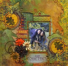 Lynn Shokoples for Bo Bunny with Family Layouts and Scrap Around the World; Nov 2013